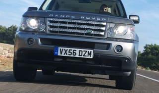 Range Rover Sport TDV8 front view