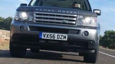 Range Rover Sport TDV8 front view