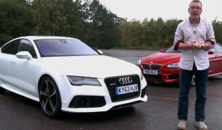 BMW M6 Gran Coupe vs Audi RS7