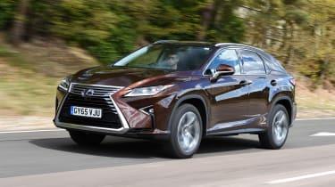 Lexus RX - front