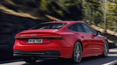 Audi A7 Sportback Hybrid - rear
