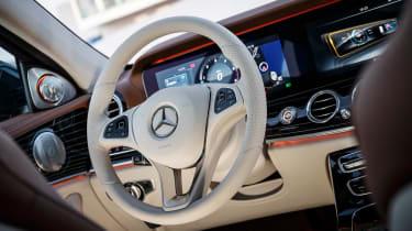 Mercedes E-Class - dash