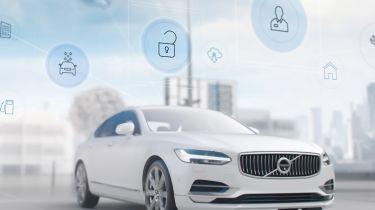 Volvo concierge app