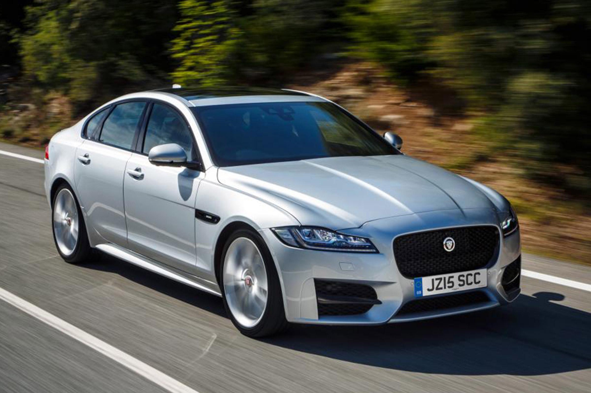 Jaguar XF - best executive cars | Auto Express