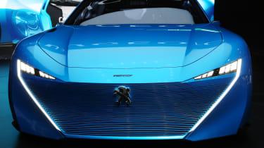 Peugeot Instinct concept Geneva - full front