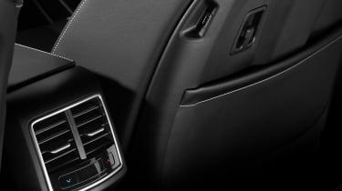 Kia Sportage - rear vents