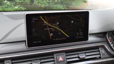 Audi S5 Cabriolet - infotainment