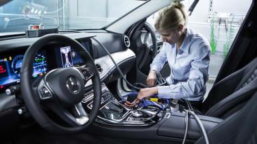 Mercedes S-Class engine updates