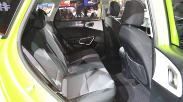 Kia Soul - LA show rear seats