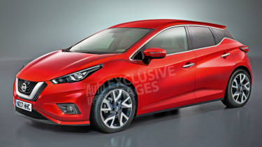 2017 Nissan Micra - exclusive image (watermarked)