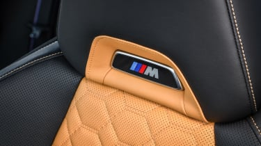 BMW X3 M Competition - seat detail