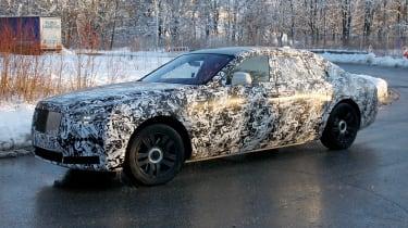 Rolls-Royce Ghost spies - front 3/4
