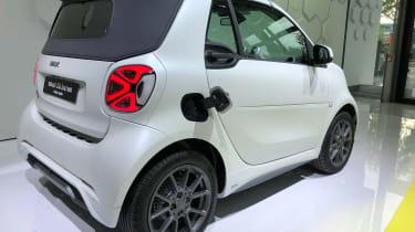 Smart EQ ForTwo - Frankfurt rear