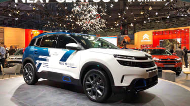Citroen C5 Aircross - Paris - Front