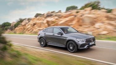 Mercedes-AMG GLC 43 Coupe 2019 facelift front