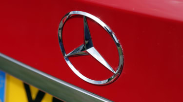 Used Mercedes C-Class - Mercedes badge
