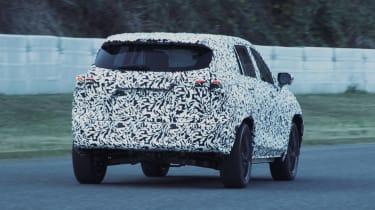 Lexus EV SUV - spied rear