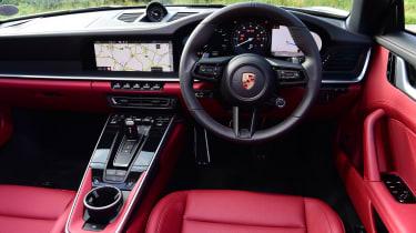 Porsche 911 Cabriolet - dash