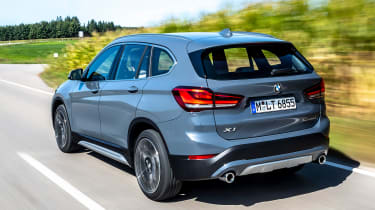 BMW X1 review - rear tracking
