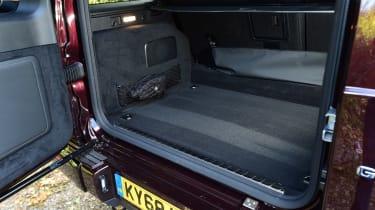 Mercedes G-Class - boot