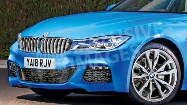 BMW 3 Series - front detail (watermarked)