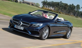 Mercedes S 500 Cabriolet 2016 - front tracking