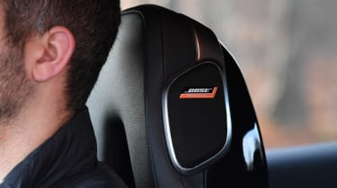 Nissan Juke Tekna: long-term test review - first report Bose speaker