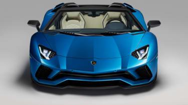 Lamborghini Aventador S Roadster - bonnet