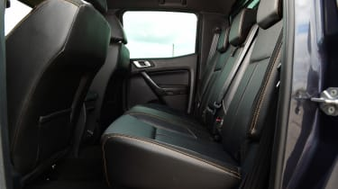 Ford Ranger Wildtrack long termer - first report rear seats