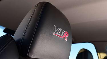 Vauxhall VXR8 GTS - seat detail