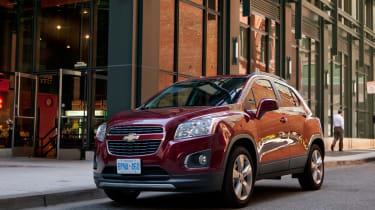 Chevrolet Trax front three-quarters