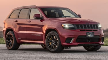 1012bhp Hennessey Jeep Trackhawk dusk front