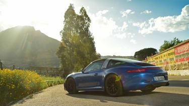 Porsche 911 Targa GTS static