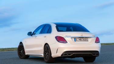 Mercedes-AMG C63 S - static rear