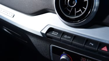 Audi SQ2 - buttons