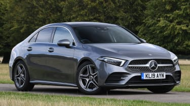 Mercedes A 250 Saloon - front 3/4 static