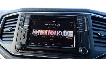 Volkswagen Amarok - infotainment