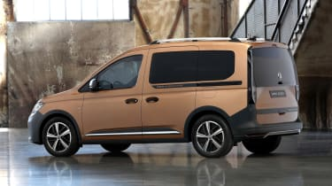 2020 Volkswagen Caddy Pan Americana - rear