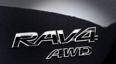 Toyota RAV4 badge
