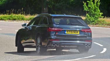 Audi S6 Avant - rear cornering