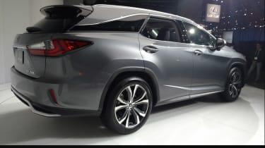 Lexus RX L LA show pic rear