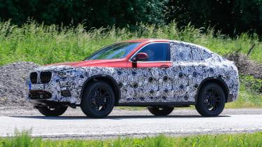 BMW X4 - spyshot