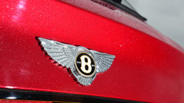 Bentayga boot badge