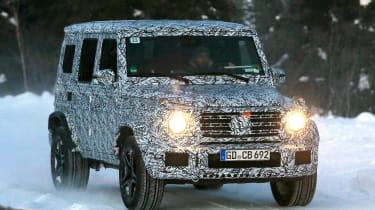 Mercedes G63 spy shot