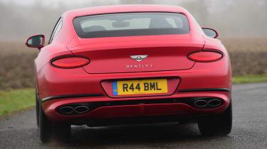 Bentley Continental GT V8 - rear cornering