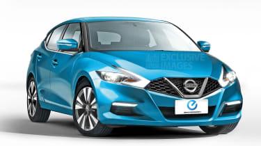 Nissan Leaf front rendering