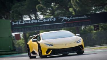 Lamborghini Huracan Performante corner