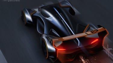 McLaren Ultimate Vision Gran Turismo - rear design