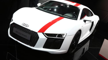 Frankfurt - Audi R8 V10 RWD - front