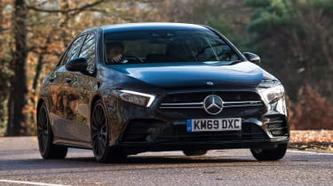 Mercedes-AMG A 35 Saloon - front cornering